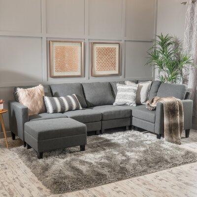 Longwood Modular Sectional Upholstery : Dark Gray