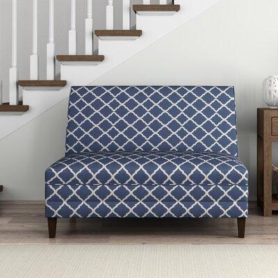 Weatherton High Back Armless Upholstered Sofa
