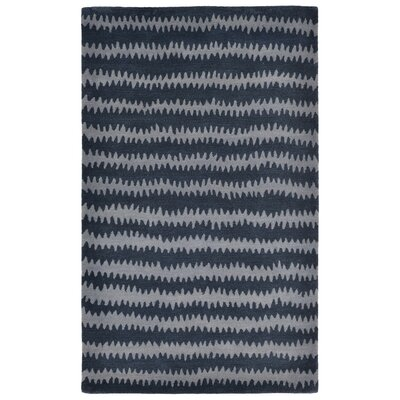 Gaia Hand-Tufted Blue Area Rug Rug Size: 5 x 8