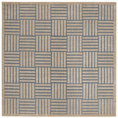 Zaniyah Brown Indoor/Outdoor Area Rug Rug Size: Square 67