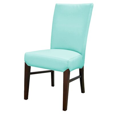 Ginevra�Side Chair Upholstery: Aqua