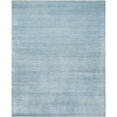 Milmont Hand-Woven Sky Area Rug Rug Size: Rectangle 10 X 14
