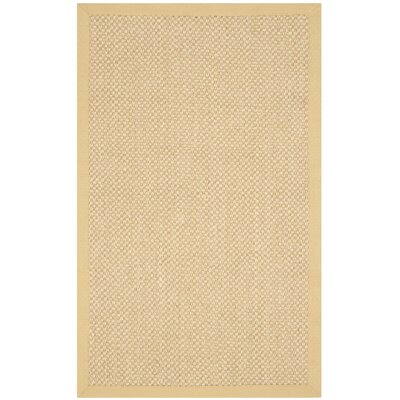Richmond Maize/Wheat Rug Rug Size: Rectangle 26 x 4