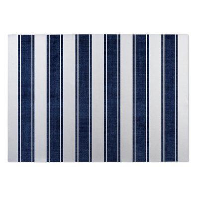 Ayleen Stripe Doormat Mat Size: Square 8