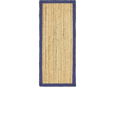 Elsmere Hand-Braided Natural Area Rug Rug Size: Runner 26 x 6