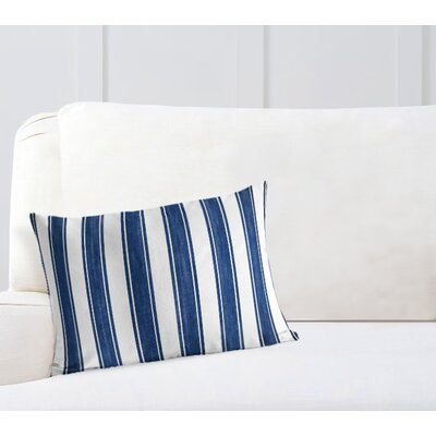 Ayleen Stripe Lumbar Pillow Size: 12 x 16