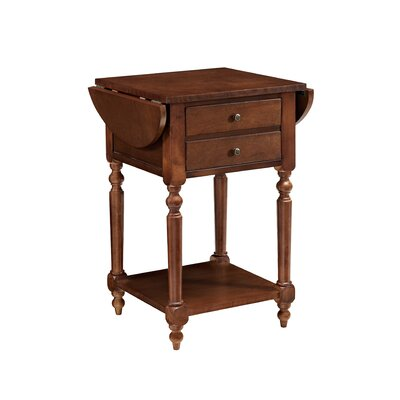 Tolland End Table Color: Cherry