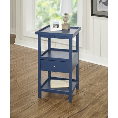 Merrimac End Table Color: Blue