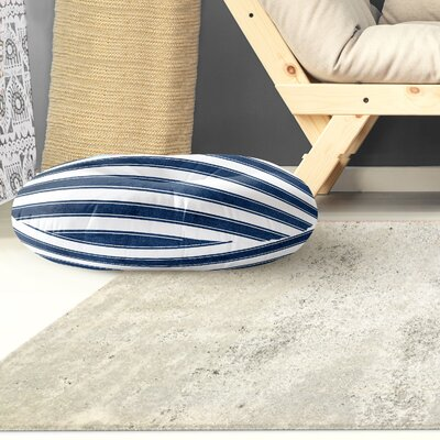Ayleen Stripe Round Floor Pillow Size: 26 H x 26 W