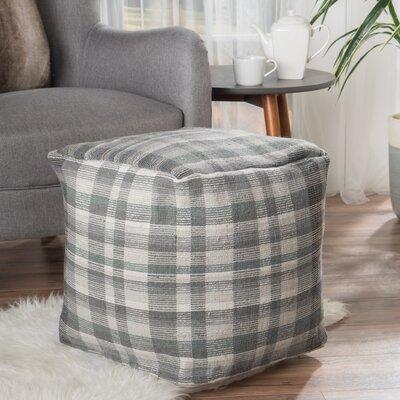 Bahama Pouf Upholstery: Gray