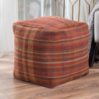 Bahama Pouf Ottoman Upholstery: Terra