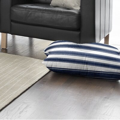 Ayleen Stripe Floor Pillow Size: 26 H x 26 W