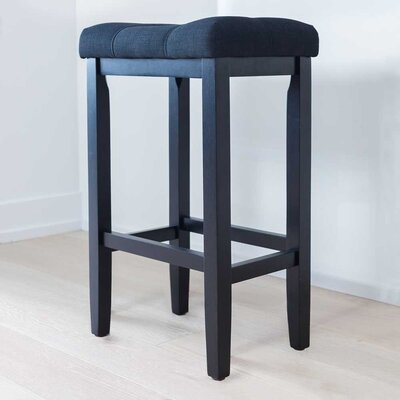 Firth 29 Bar Stool Color: Piano Black