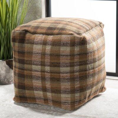 Bahama Pouf Upholstery: Brown