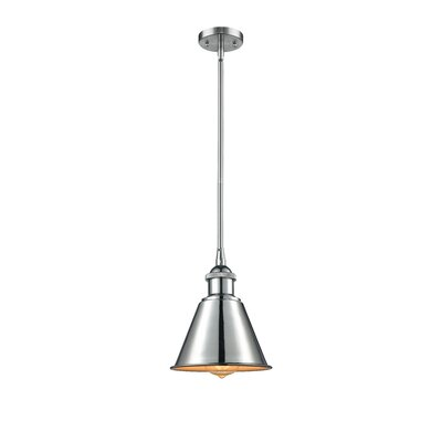 Harlan 1-Light Globe Pendant Finish: Polished Chrome