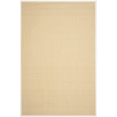 Boxrah Beige Area Rug Rug Size: Rectangle 6 x 9