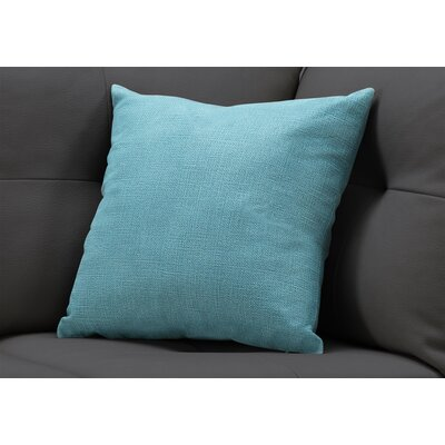 Griffith Square Throw Pillow Color: Light Green
