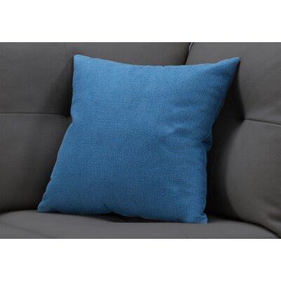Griffith Square Throw Pillow Color: Blue