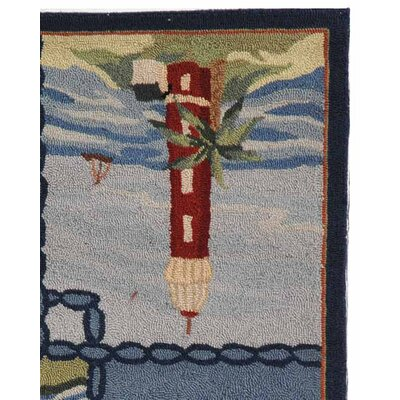 Eldridge Cape Cod Novelty Rug Rug Size: Rectangle 26 x 4