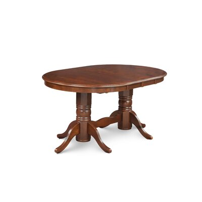 Varela Oval Dining Table Color: Espresso Brown