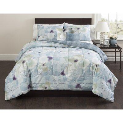 Magnolia 5 Piece Comforter Set Size: Full