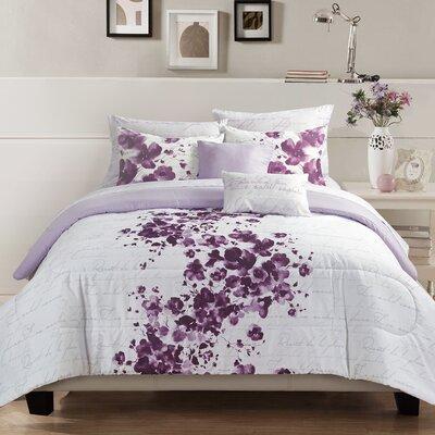 Canterbury 9 Piece Reversible Comforter Set Size: King