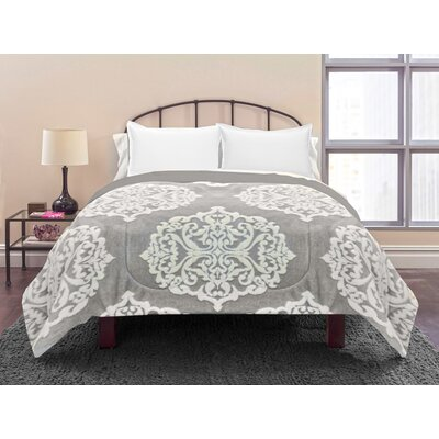 Sherpa 3 Piece Reversible Comforter Set Size: Queen
