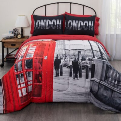 London Bed in a Bag Set Size: Twin/Twin XL