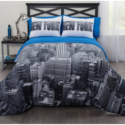 New York City Bed in a Bag Set Size: King