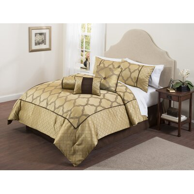 Bexely 7 Piece Comforter Set Size: Full