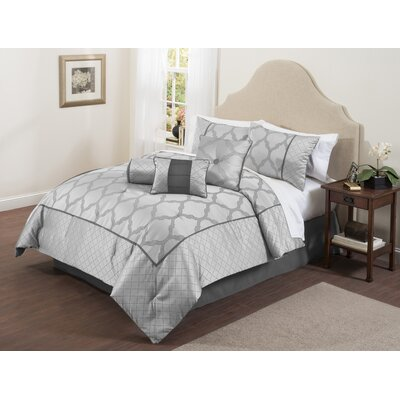 Bexley 7 Piece Comforter Set Size: Queen
