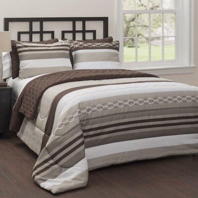 Malaga 6 Piece Comforter Set Size: Queen