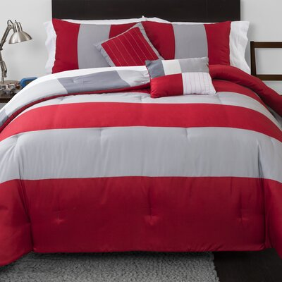 Reversible Comforter Set Size: Full