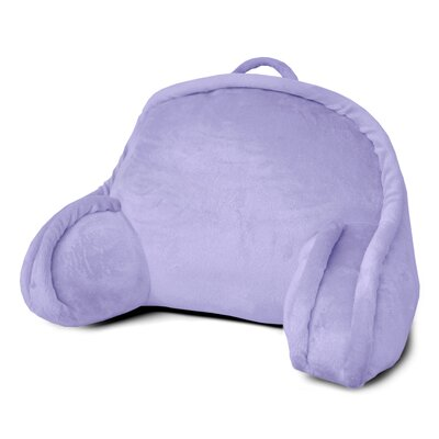 Kids Mini Polyester Bed Rest Pillow Color: Purple