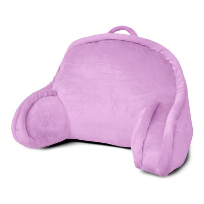 Kids Mini Polyester Bed Rest Pillow Color: Pink