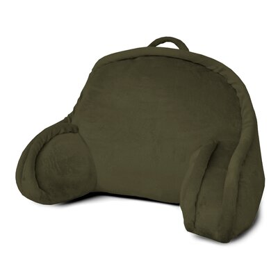 Kids Mini Polyester Bed Rest Pillow Color: Green