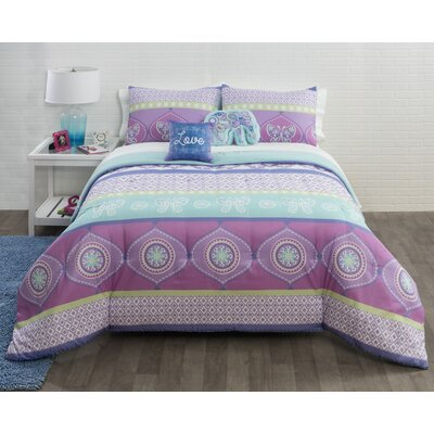 Stripes Comforter Set Size: Full/Queen
