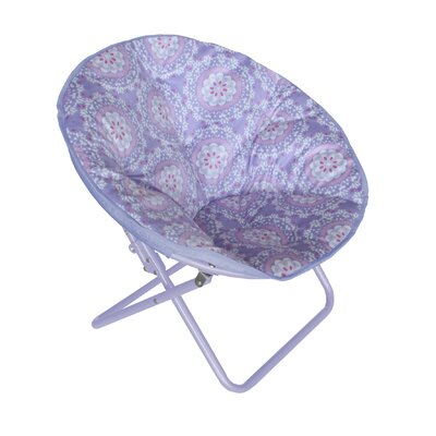 Phillip Papasan Chair Upholstery: Purple Medallion
