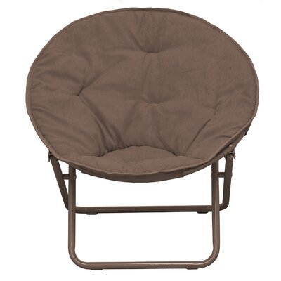 Phillip Papasan Chair Upholstery: Brown