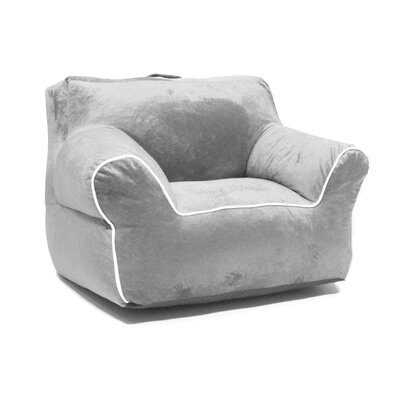 Phillip Bean Chair Upholstery: Silver