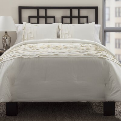 3 Piece Reversible Duvet Cover Set Size: Full/Queen