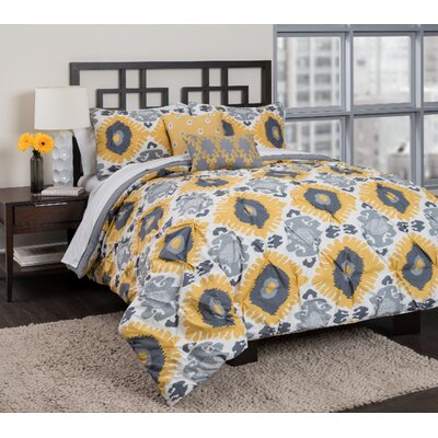 Rania Comforter Set Size: King