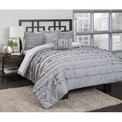 Pintucked Comforter Set Size: Full/Queen