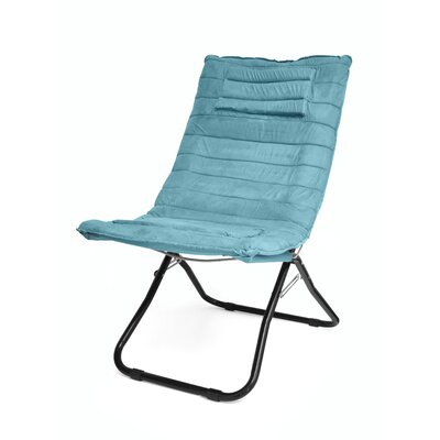 Memory Foam Lounge Chair Color: Teal