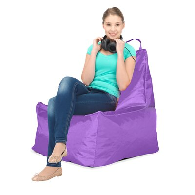 Honey Bee Bean Bag Upholstery: Purple