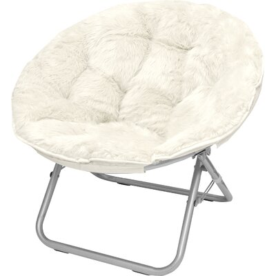 Demar Mongolian Fur Papasan Chair