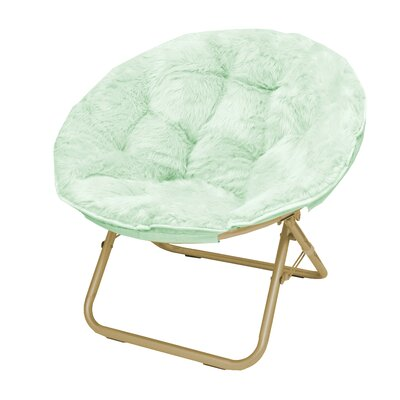 Micromink Papasan Chair Upholstery: Mint