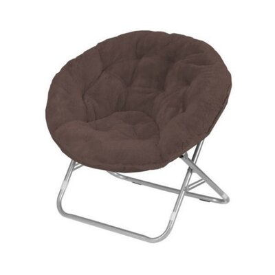 Faux Fur Papasan Chair Color: Brown