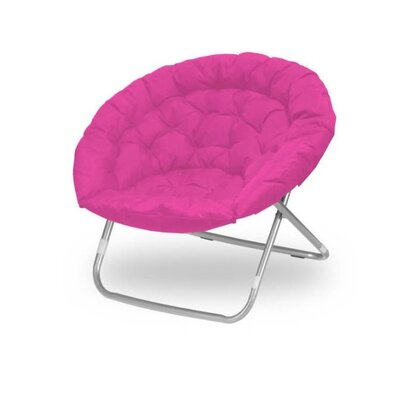 Oversized Papasan Chair Color: Pink