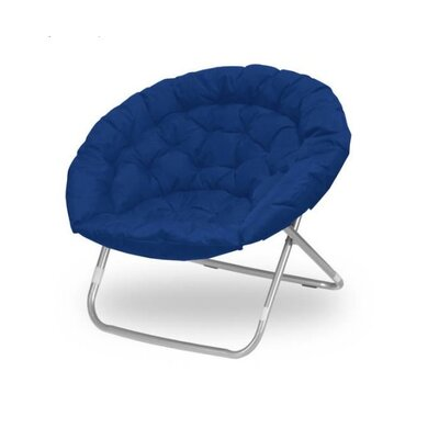 Oversized Papasan Chair Color: Navy